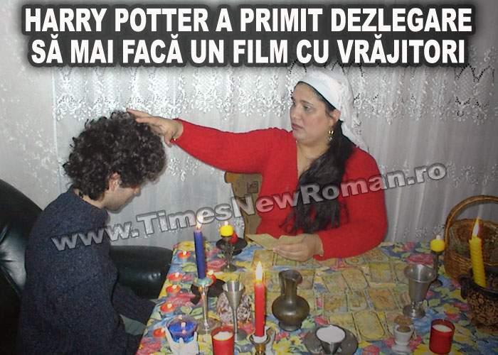 Harry Potter a obținut dezlegarea vrăjitoarelor din Sinteşti pentru a filma în România