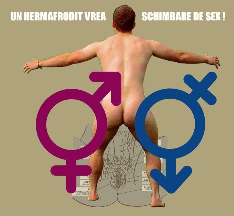 Primul hermafrodit care vrea o operaţie de schimbare de sex