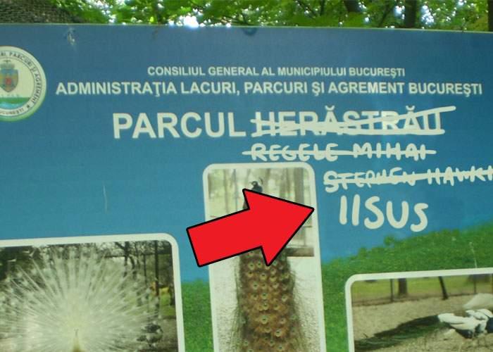 """După ce a auzit că azi a murit Iisus, Gabi Firea redenumeşte Parcul Regele Mihai """"Parcul Iisus"""""""
