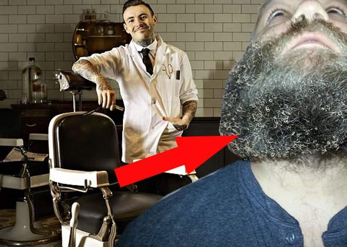 Un hipster s-a dus la barber shop de Ignat şi i-au pârlit barba