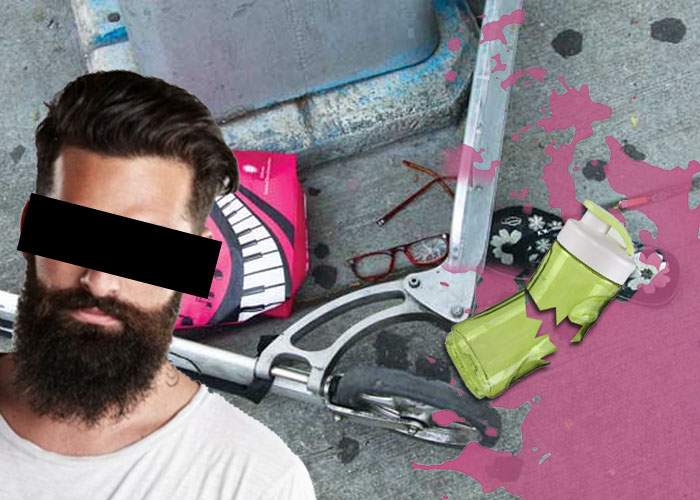 Accident teribil de trotinetă la Bucureşti: cei doi hipsteri implicaţi, găsiţi într-o baltă de smoothie