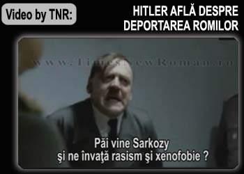 Video: Hitler află despre deportarea ţiganilor din Franţa