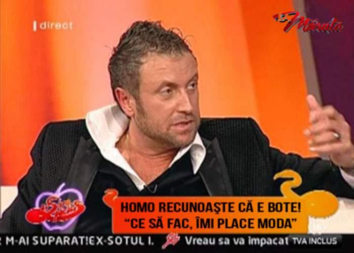 În sfârşit! Un celebru homosexual recunoaşte că e Cătălin Botezatu
