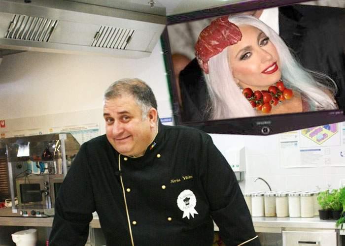 """Horia Vârlan critică vestimentația purtată de Lady Gaga: """"N-a spălat roșiile înainte să le poarte!"""""""