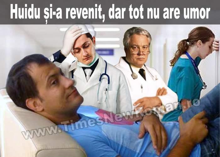 Doctorii sunt îngrijorați: Șerban Huidu tot nu simte umorul