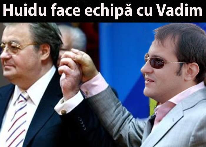 Vadim îl antrenează pe Huidu ca să-l jignească mai dur pe Mircea Badea