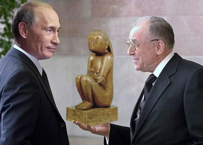 """Iliescu are soluţia: """"După ce cumpărăm Cuminţenia Pământului, s-o trimitem la Moscova, la păstrare"""""""