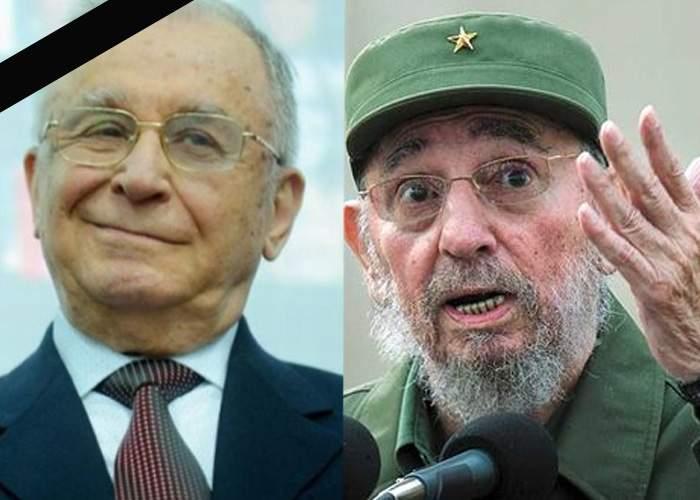 A murit şi Fidel Castro. Iliescu începe să ia în calcul că s-ar putea să nu prindă secolul 22