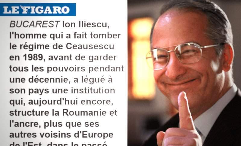 Iliescu insistă că Le Figaro n-au vorbit cu el: Era ăla de la Divertis care mă imită