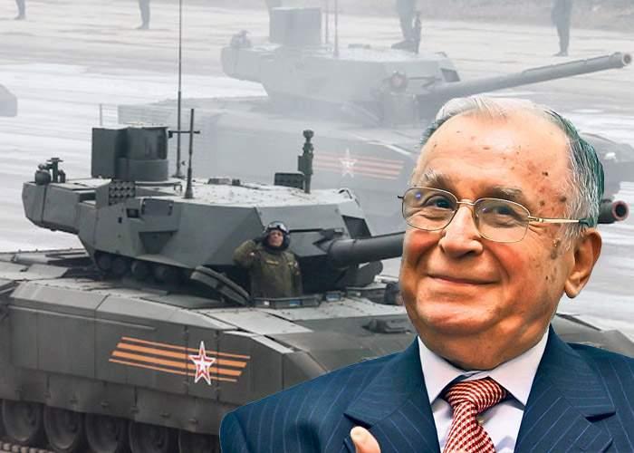 Pesedistul cu mitralieră e nimic. Iliescu are un tanc de la Revoluţie!