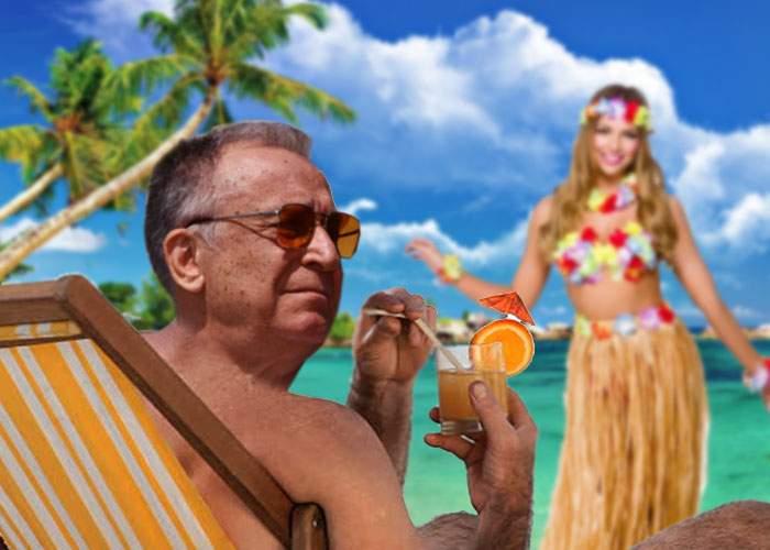 Credeai că nu poţi să-l urăşti mai mult pe Iliescu? Tocmai a pus o poză din vacanţa lui în Maldive