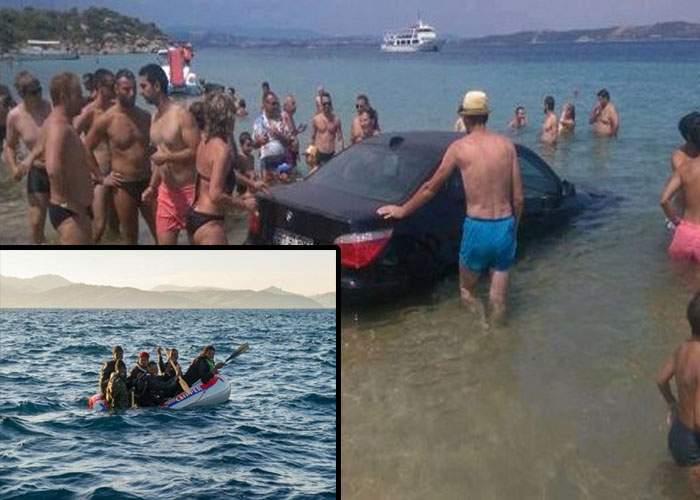 Mai mulți imigranți ajunşi cu pluta în Grecia au făcut cale întoarsă după ce au văzut pe plajă numai români