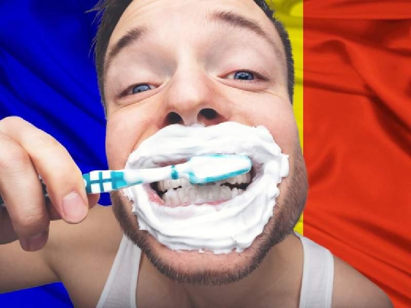 """Imnul naţional, actualizat în sfârşit: """"Deşteaptă-te, române, şi spală-te pe dinţi"""""""