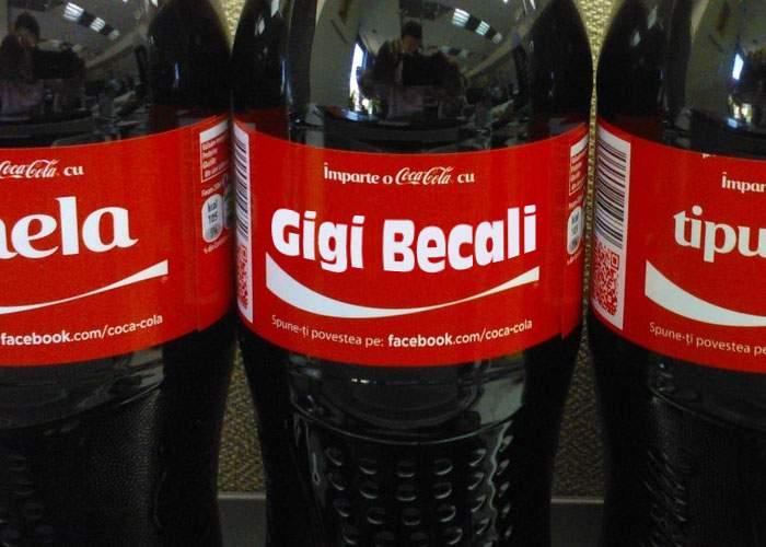 """Mesaj misterios găsit de Dan Voiculescu pe o sticlă: """"Împarte o cola cu Gigi Becali"""""""