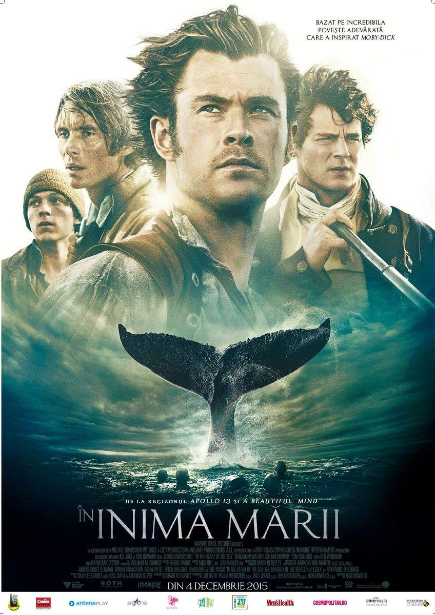 In the Heart of the Sea 3D (2015) – O fi albă, dar e lungă de 30!