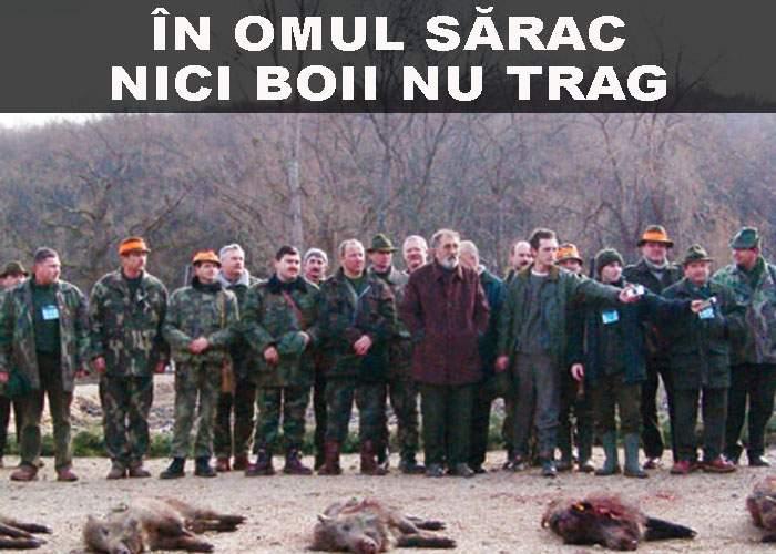 """Gonacii, despre vânătorii de la Balc: """"În omul sărac, nici boii nu trag"""""""
