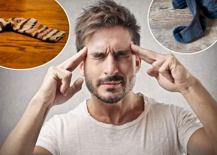 Un bărbat e atât de organizat încât ştie permanent unde îi sunt şosetele desperecheate