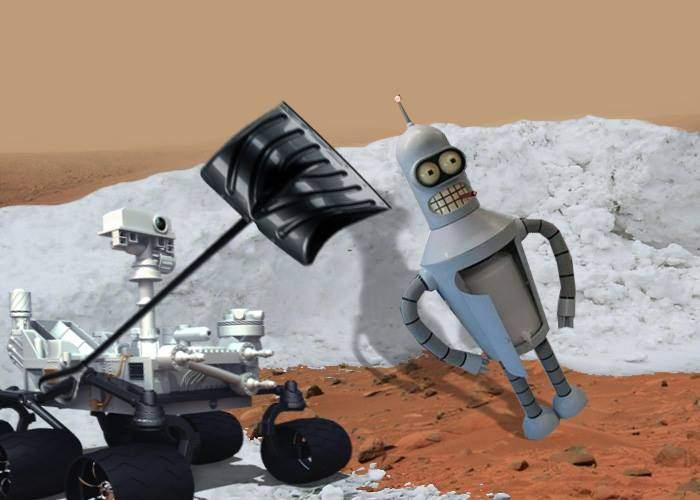 Ştiri de pe Marte. Robotul românesc Ingeniosity a ocupat locul deszăpezit de Curiosity