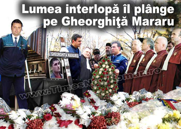 La înmormântarea interlopului din Piatra Neamţ au venit doar familia şi apropiaţii