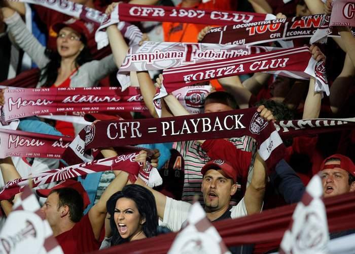 Inna va face playback împreună cu suporterii CFR la meciul cu U Cluj