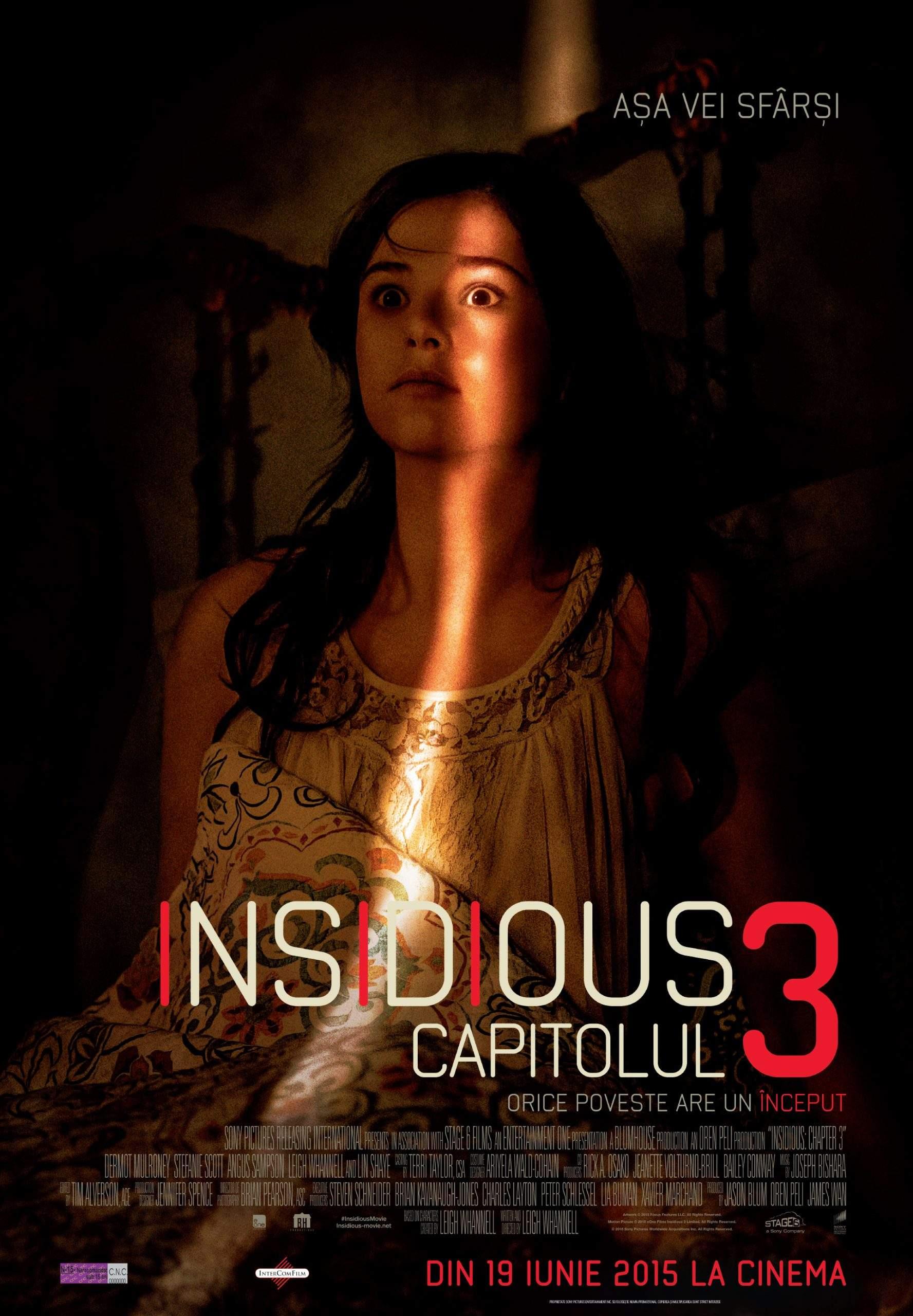 "Insidious: Chapter 3 (2015) – ""Capra cu trei iezi"" pe horror"