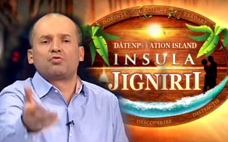 Radu Banciu va prezenta Insula Jignirii, în care el jigneşte nişte concurenţi până pleacă