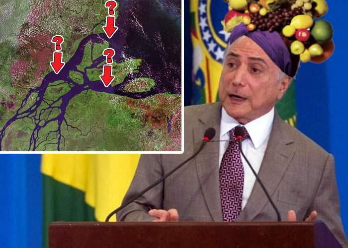 Alarmaţi de scandalul Belina, brazilienii au verificat şi au constatat că şi lor le lipsesc 3 insule din Amazon