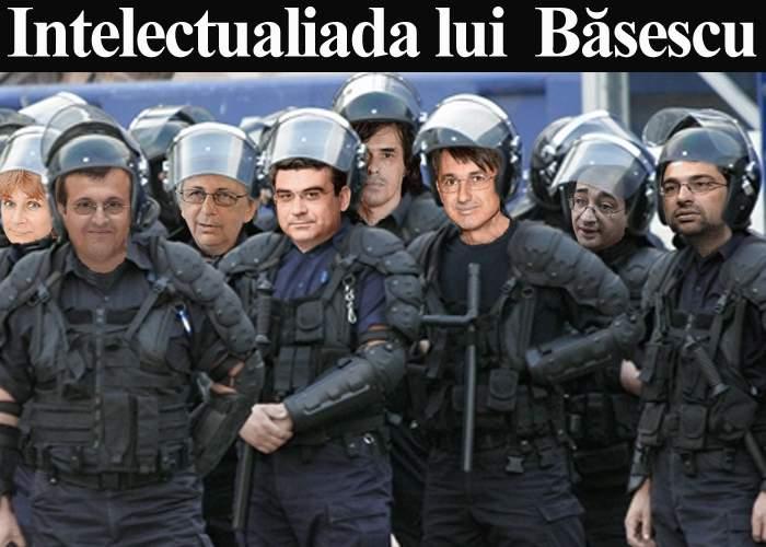 Intelectualii lui Băsescu, chemaţi să restabilească ordinea în Piaţa Universităţii
