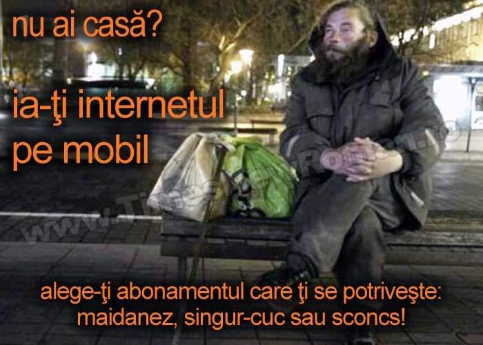 """Orange intră pe segmentul homeless cu sloganul """"Ia-ţi internetul pe mobil"""""""