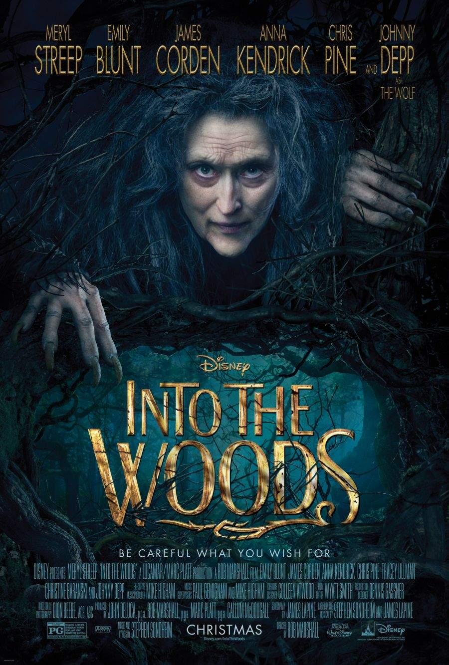 Into the Woods – Astfel zise hapsân pădurea, colți asupră-mi clătinând…