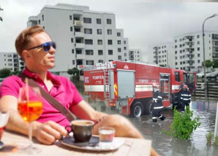 Scandalos! În timp ce pompierii le salvează casele, localnicii din Greenfield Băneasa stau în lounge şi beau Aperol
