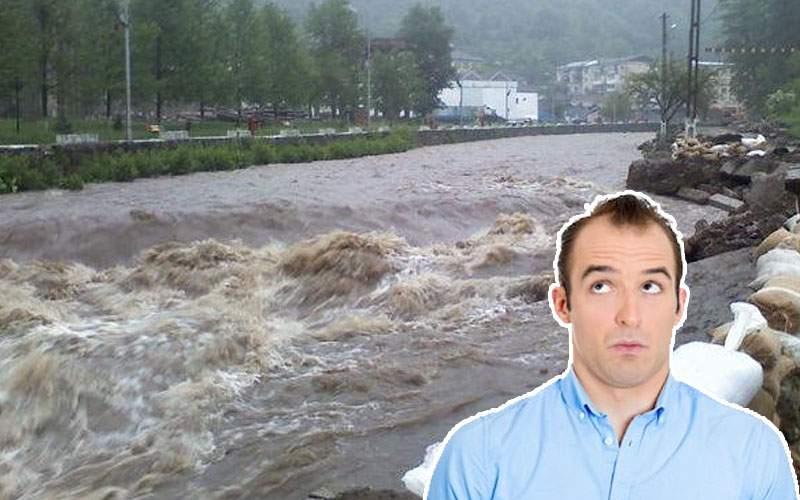 Inundaţii masive în Moldova! Ultimul care a plecat în Italia a uitat să oprească apa