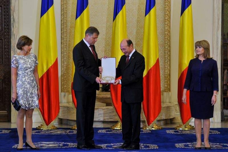 15 lucruri despre ceremonia de predare a președinției țării de la Traian Băsescu la Klaus Iohannis