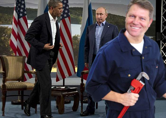 Noroc chior! Iohannis, invitat de urgență la întâlnirea Obama-Putin, ca să repare o țeavă spartă
