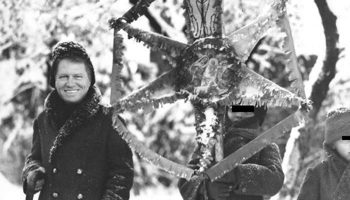 """Când era mic, Iohannis colinda la un singur vecin, că-i lua 4 ore să cânte """"Steaua sus răsare"""""""