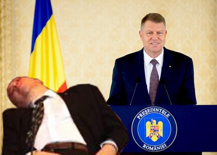 """Reacţie promptă a lui Iohannis: """"Îl voi demite pe Dan Mihalache imediat ce se trezeşte"""""""