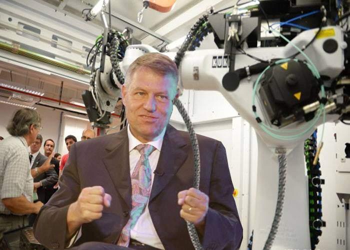 """Iohannis la Laserul de la Măgurele: """"Vin aici săptămânal, să-mi încarc bateriile"""""""