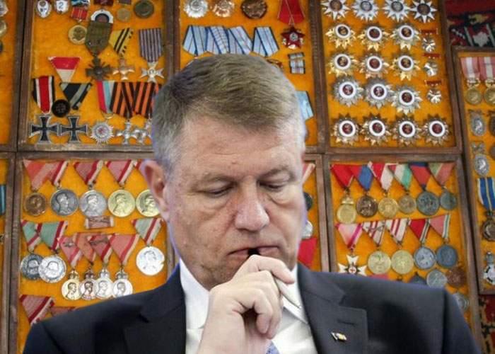 12 lucruri despre obsesia președintelui Klaus Iohannis pentru decoraţii
