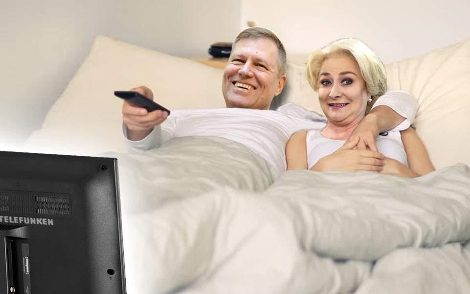 Klaus a invitat-o pe Dăncilă pe la el să se uite împreună la dezbatere