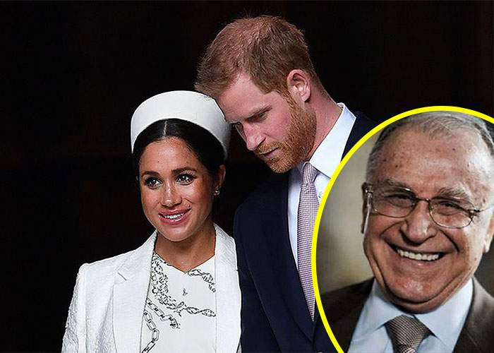 Meghan şi Harry au botezat copilul Jon-Iliescu de Windsor, ca să aibă viaţă lungă