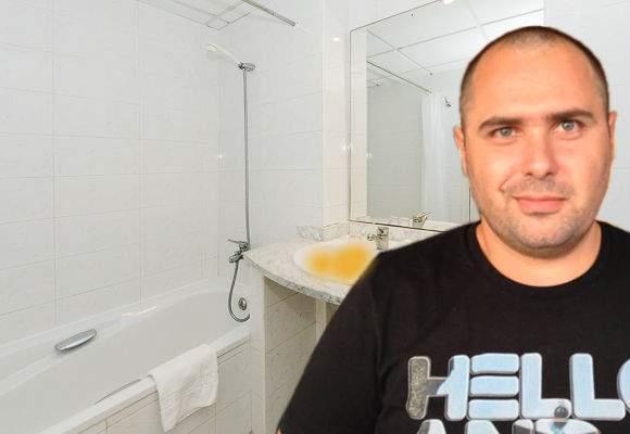Ca să se simtă din nou bărbaţi după sclifoselile de 1 Martie, românii se pişă în chiuvetă