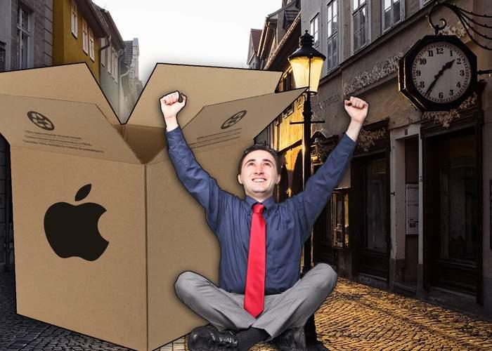 iPhone se va vinde în cutii gigant, ca să ai în ce dormi după ce vinzi casa ca să ţi-l cumperi
