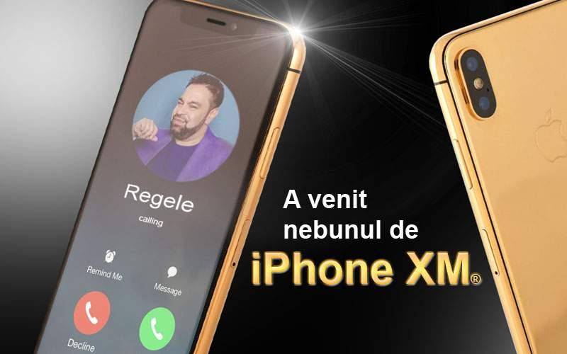 A apărut iPhone XM, primul telefon conceput special pentru ascultat manele
