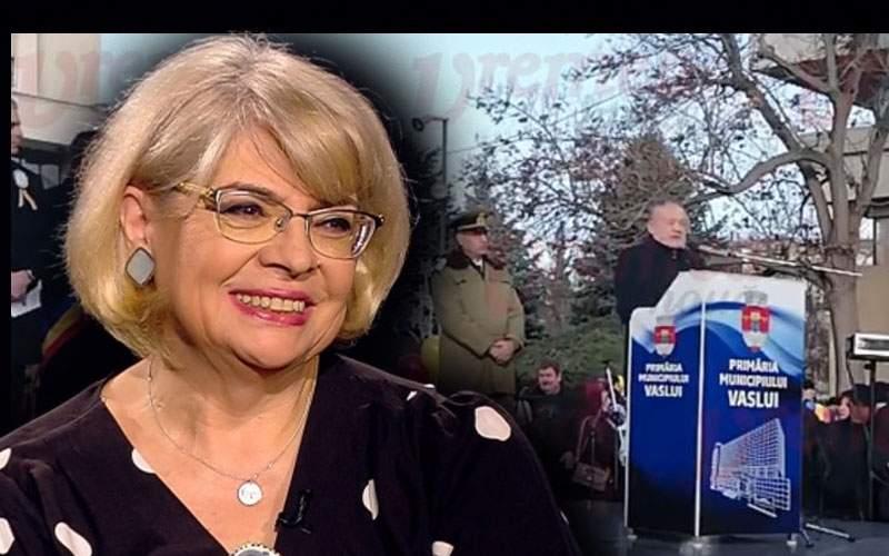 """Lider PSD, felicitat de Irina Nistor după ce i-a zis unui protestatar """"Măi, tembelule"""""""