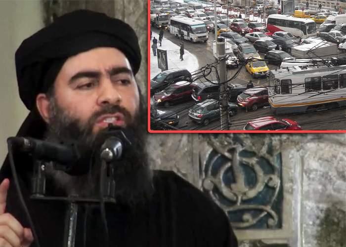 """""""Nu putem egala aşa ceva!"""" Fanaticii ISIS renunţă la jihad după ce au văzut traficul din piaţa Victoriei"""