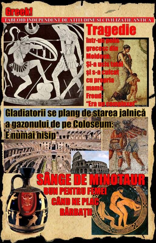 Istoria tabloidului: epoca greco-romană II
