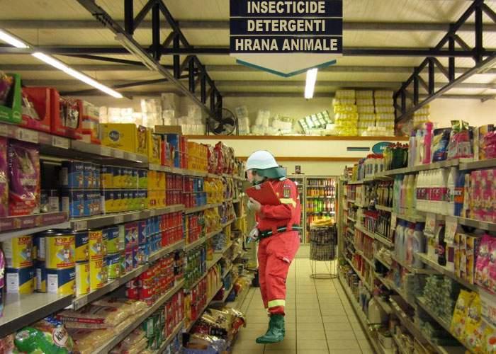 Incompetenţă? Un angajat ISU se află de 6 ore în Carrefour, încercând să localizeze mazărea