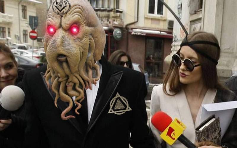 Iulia Albu şochează cu noul ei iubit, o creatură nondimensională din Zebulon 9