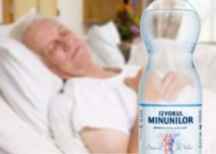 Doi bătrâni s-au intoxicat cu dioxid de carbon de la o sticlă de Izvorul Minunilor uitată deschisă
