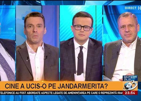 Dezinformare la Antena 3. Se transmite înmormântarea jandarmeriţei şi nu i s-a furat un pistol, ci 3 tancuri!